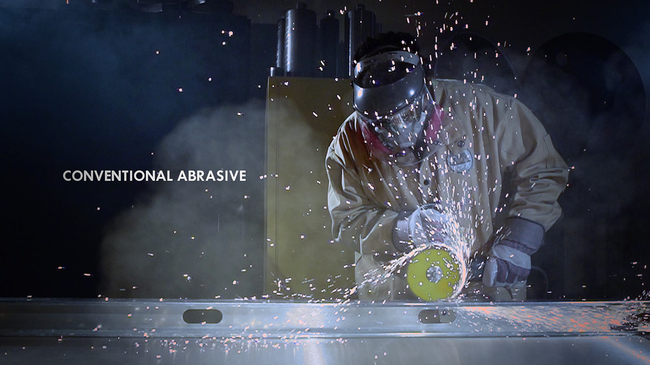 The conventional cut image represents a promo video for DX Cutter in the extreme working conditiions. Produced by EKADOO.com