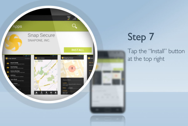A featured image of the explainer video production for SnapOne mobile applications provided by EKADOO.com