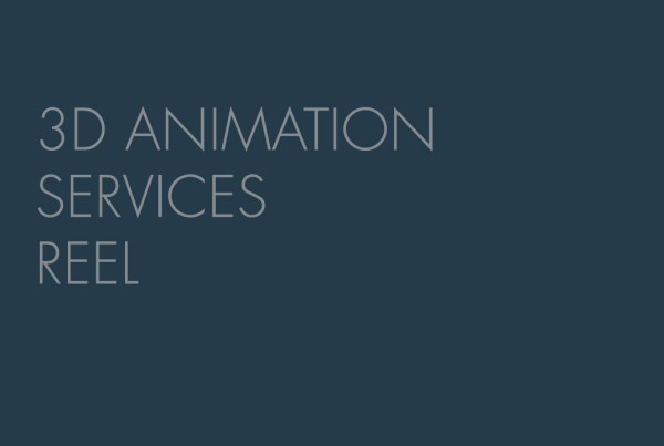 A feature image for a demo reel of the 3D animation services produced by EKADOO.com