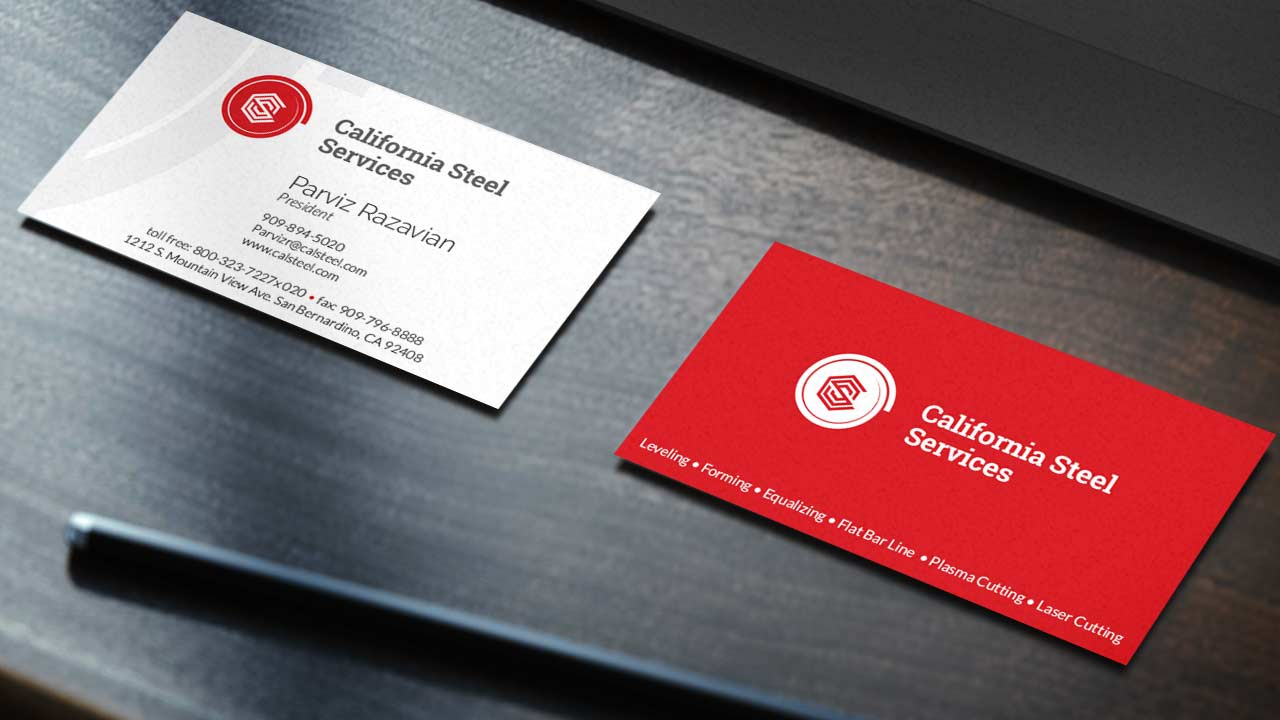 New corporate identity - business cards