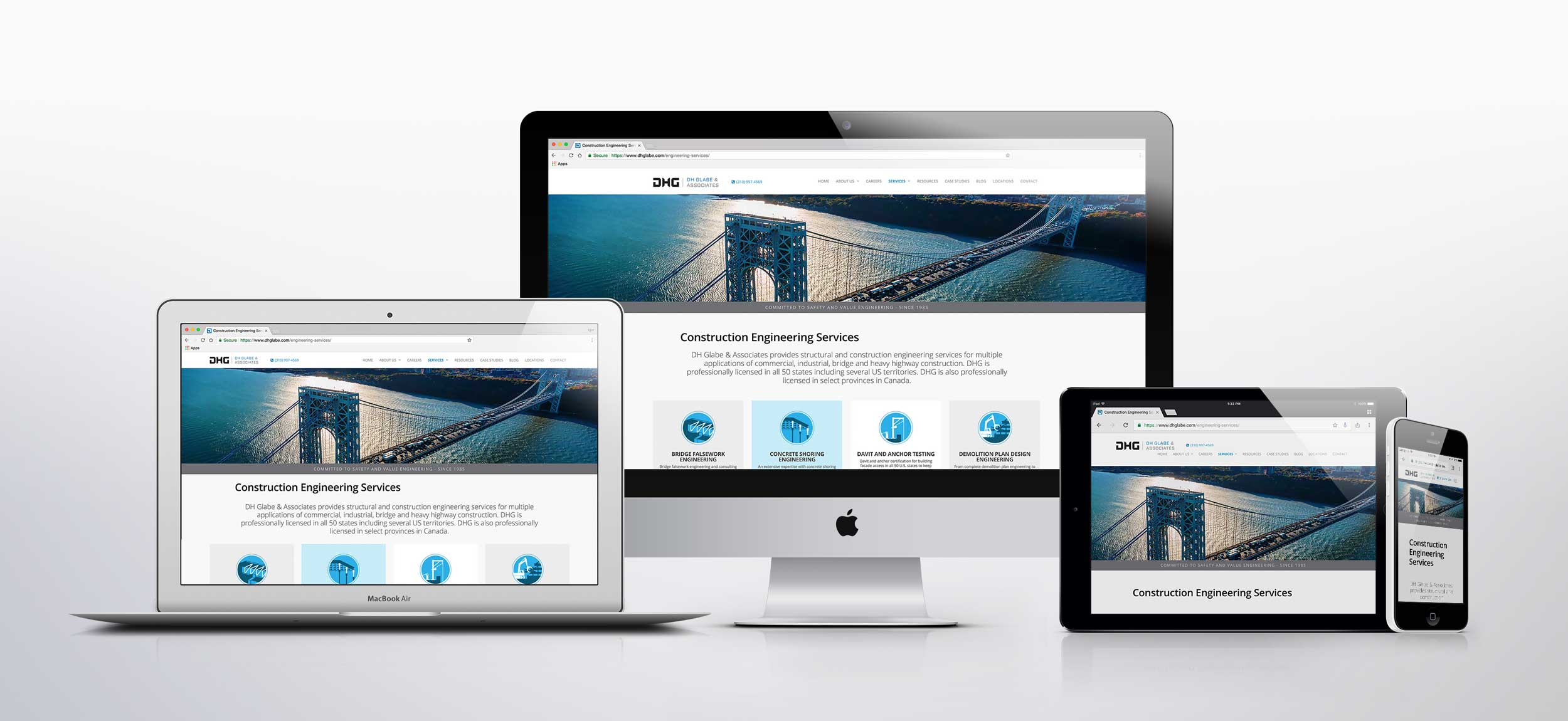 Website branding services responsive design